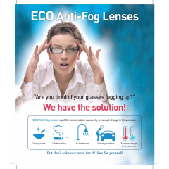 Eco Anti-Fog Lens