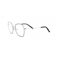 Collection 1880 - 60070 - La collection 1880 de Morel s'inspire de l'histoire-même de la marque. Son nom n'est pas choisi au hasard, et fait directement référence à l'année de création de Morel: 1880. Une histoire riche et passionnante, marquée par les différents styles que le lunetier a créé au fil des décennies. Ce sont ces lunettes qui servent aujourd'hui d'inspiration aux designers de Morel. Pour cette nouvelle collection, ils se sont librement inspirés de la Tydée, un modèle iconique lancé par le lunetier dans les 60's, et vendu à des millions d'exemplaires à travers le monde !  La particularité de cette monture est sans nul doute l'extrême finesse (une première à l'époque) de ses branches et de sa face. Un raffinement que l'on retrouve dans cette nouvelle collection, qui ose cependant des formes plus typées.  Fidèle à l'esprit raffiné de la collection 1880, Morel pare ses toutes nouvelles Tydées de détails chics : un cercle perlé, pour faire ressortir la couleur des faces, et un drageoir guilloché du « M » de Morel.