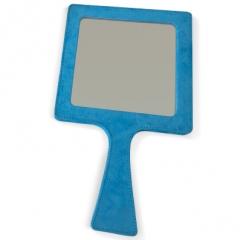 Présentoirs et Miroirs - <p>On réalise des présentoirs et des miroirs en utilisant different tissus et du faux cuir.</p>