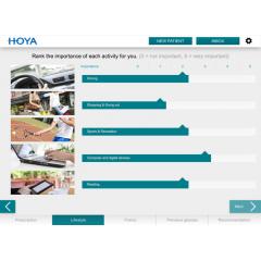HOYA IDENTIFIER - Définit le design des verres premiums sur mesure pour une performance visuelle à toutes les distances, pour répondre aux exigences visuelles les plus diverses.