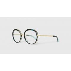 EK-3010J 27-82 - Combinant l'acétate et le titane, la ligne Studio est faite à la main au Japon par des artisans lunetiers d'excellence. La légèreté des montures, associée à des couleurs pétillantes et modernes, bouscule les codes historiques du style EK et offre une touche sophistiquée.
