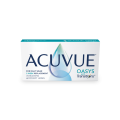 ACUVUE® OASYS with Transitions™ - ACUVUE® OASYS with Transitions™ Light Intelligent Technology™, la lentille de contact qui s'adapte à la lumière.