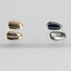 Plaquettes métal et silicone