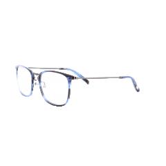 Collection 1880 - 60078 - La collection 1880 de Morel s'inspire de l'histoire-même de la marque. Son nom n'est pas choisi au hasard, et fait directement référence à l'année de création de Morel : 1880. Une histoire longue et passionnante, marquée par les différents styles que le lunetier a créé au fil des décennies. Ce sont ces lunettes qui servent aujourd'hui d'inspiration aux designers de Morel.   Pour cette nouvelle collection, ils se sont librement inspirés de la Tydée, un modèle iconique lancé par le lunetier dans les 60's, et vendu à des millions d'exemplaires à travers le monde ! La particularité de cette monture est sans nul doute son extrême finesse (une première à l'époque), caractérisée par des branches très fines, et déclinée dans de nombreuses formes tendance.   Branchée et vintage, le design de cette toute nouvelle Tydée a gardé le meilleur du style de son homologue des 60's –les branches fines, mais a troqué la face en métal pour une version combinée ultra tendance. Un look singulier, où les cercles fins en acétate contrastent superbement avec un nez et des branches tout métal. Les amoureux des détails vintage et raffinés apprécieront tout particulièrement les rivets décoratifs au niveau du nez et des tenons.
