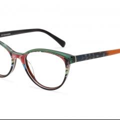 Lunette CCS120.04 - Inspiration naturelle et innovation chromatique pour un look romantique au nom de la fraîcheur: c'est la nouvelle collection CCS présentée par Area98 au salon SILMO 2019.