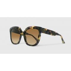 EK-5080 15 - Mettant en avant le style iconique de la Maison, audacieusement oversize, cette ligne est composée de lunettes en acétate entièrement fabriquées en France dans les ateliers lunetiers de L'Oyonnax.