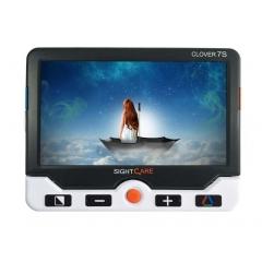 CLOVER 7 S FULL HD - <p>Loupe électronique au format 7 pouces connectable avec HDMI sur un téléviseur moderne</p> <p>Son prix public inférieur à 1000€</p>