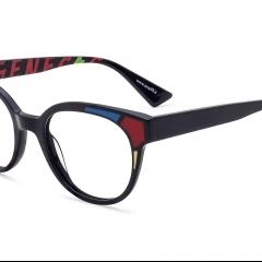 Lunette GV1533.04 - Une proposition optique qui arrive à travers la rencontre avec le monde de l'art. Genesis Art, qui été presenté au Mido 2019 avec un regard d'inspiration et d'humeur complètement renouvelé, arrive à Silmo avec une collection inspirée par le génie du peintre et fondateur du néoplasticisme Piet Mondrian.