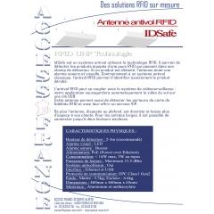 Antivol plafond RFID - <p>IDSafe, le système antivol connecté. Il permet de détecter les produits équipés d'une puce RFID qui passent dans son champs de détection...</p>