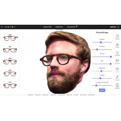 xMi Pro - xMi Pro est un service de personnalisation, d'essayage et de fabrication de montures sur-mesure, destiné aux professionnels de l'optique, designers, opticiens et fabricants lunetiers. Cette solution permet de proposer très simplement un service de lunetterie sur-mesure ainsi qu'une expérience nouvelle en boutique.   xMi Pro est disponible sur une interface web. Le configurateur 3D et le module d'essayage virtuel sont complétés par des outils d'aide à la vente en boutique (modèles types, échantillons d'acétate et instruments de mesures).   xMi Pro propose une expérience d'achat technologique unique, à la fois différenciante et rassurante. Le client peut manipuler sa création et piloter en temps réel une multitude de réglages jusqu'à obtenir un résultat parfaitement ajusté à son style et sa personnalité. Il peut apprécier de manière photo-réaliste un modèle qui n'existe pas encore et l'essayer sur son avatar 3D, sur une capture vidéo en direct ou sur sa photo.  xMi Pro met à disposition une offre sur-mesure complémentaire à la proposition de montures existantes, Sans stocks supplémentaires, l'utilisateur peut accéder avec une infinité de modèles et de réglages possibles grâce à une assistance technologique et logistique valorisant l'expertise de l'opticien et l'artisanat français, à des prix accessibles.