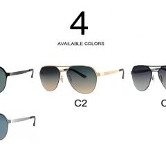 2018 nouveaux hommes élégants en acier inoxydable conduite miroir lunettes de soleil hommes uv400 lunettes de soleil de mode - <p>Lieu d'origine: Zhejiang, Chine (continentale)<br />Numéro de modèle: M6024<br />Age: Hommes<br />Couleur de la monture: noir, or, pistolet, argent<br />Matériel: nylon polarisé + acier inoxydable<br />MOQ: 12pcs / couleur<br />Taille: 136x138x49mm<br />Certification: CE FDA<br />Utilisation: décoration de protection des yeux</p>