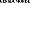 GENS DU MONDE - VARIATION DESIGN