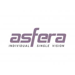 Asfera - Verre unifocal Freeform Pour un unifocal confortable avec un large champ de vision. Les porteurs de verres unifocaux ont souvent une zone de vision réduite. Grâce à notre fabrication Freeform, les verres Asfera permettent de bénéficier d'un champ de vision 30% plus large qu'avec un verre classique.