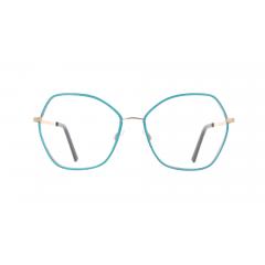 """Re-Master - Lamè - Collection croisière VANNI : l'ÂME des lunettes coutures dans un tissus lamé. Une ligne de montures très féminines et élégantes en métal qui s'habille d'un tissu dit """"lamé"""". Connu surtout pour son style fin et brillant, celui-ci prend un aspect métallique qui entremêle des fils argentés ou dorés."""
