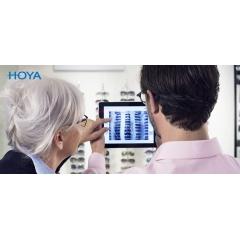 HOYA VIEWER - Démontrez en toute simplicité le confort visuel obtenu grâce aux verres HOYA avec Hoya Vision Consultant Viewer pour iPad. HOYA a développé la première application qui utilise la technologie de réalité augmentée pour répondre aux enjeux des opticiens qui souhaitent mettre en avant les verres à valeur ajoutée. Cette application permet d'aider les opticiens dans leur démarche d'explication des différences de conforts visuels. Le porteur voit instantanément la différence de performances entre plusieurs verres dans une situation courante avant de les acheter. Où et quand vous voulez ... Dans votre magasin ou dans une salle de réfraction.