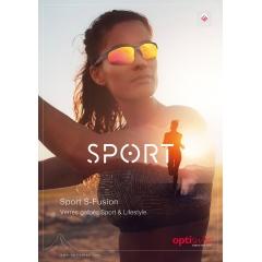 Sport S-Fusion - Verres galbés Sport & Lifestyle