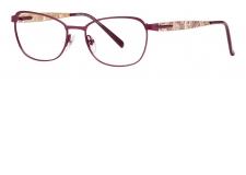 Prestige 1740 - <p>Cette lunette pleine de féminité qui s'inspire des codes fleuries de la dentelle que l'on retrouve sur la branche.</p> <p>La barre en inox a été travaillée la plus fine possible pour donner l'impression d'une construction classique mais avec une touche de modernité</p> <p>Le tenon matricé vient accueillir la branche et permet de donner du volume à la monture</p>
