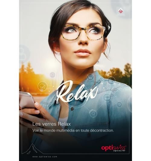 Relax S-Fusion - Verre unifocal offrant un soulagement accommodatif – Conçu pour voir le monde multimédia en toute décontraction.