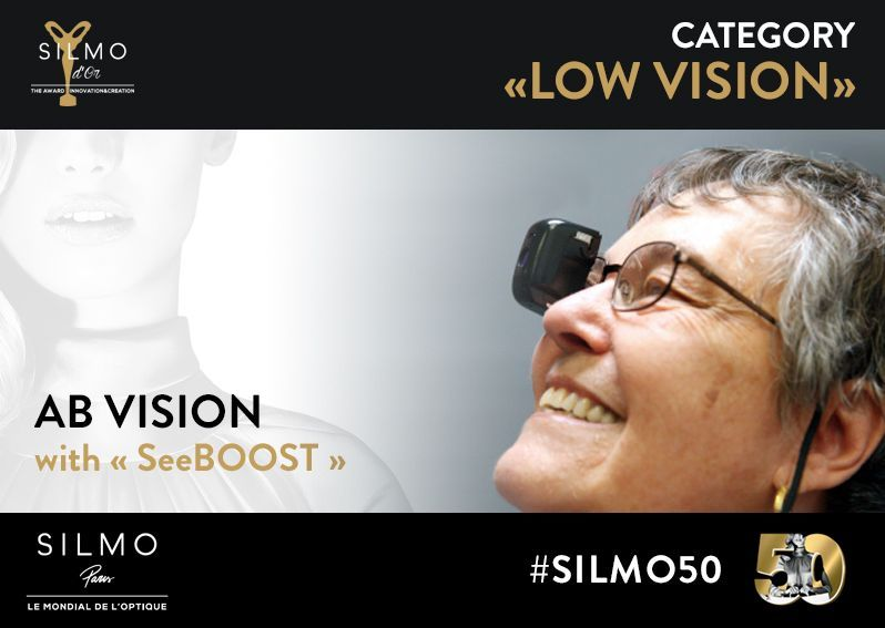 SILMO d'Or 2017 basse vision